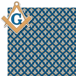 Masonic Lodge 2 Piece laser Die Cut Kit