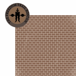 Massachusetts: Freedom Trail 2 Piece Laser Die Cut Kit