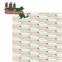 Massachusetts: MA 2 Piece Laser Die Cut Kit
