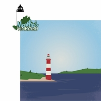 Massachusetts: Martha's Vineyard 2 Piece Laser Die Cut Kit