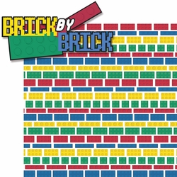 Master Builder: Brick By Brick 2 Piece Laser Die Cut Kit