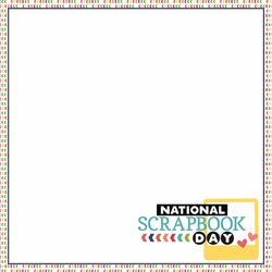 May: National Scrapbook 12 x 12 Paper