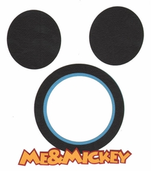 2SYT Me & Mickey Photo Frame Laser Die Cut