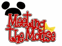 Meeting The Mouse Laser Die Cut