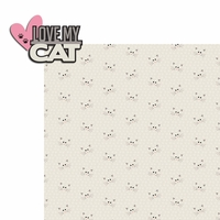 Meow: Love My 2 Piece Laser Die Cut Kit