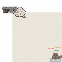 Meow: Naptime 2 Piece Laser Die Cut Kit