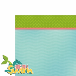 Mermaid: Swim 2 Piece Laser Die Cut Kit