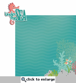 Mermaid: Under the Sea 2 Piece Laser Die Cut Kit