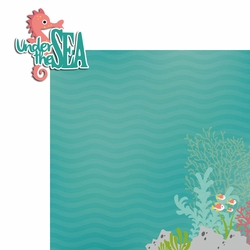 2SYT Mermaid: Under the Sea 2 Piece Laser Die Cut Kit