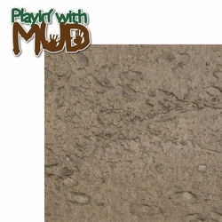 2SYT Messy Kids: Playin' with Mud 2 Piece Laser Die Cut Kit