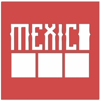 Mexico: Mexico Squares Laser Die Cut