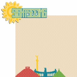 2SYT Mexico: Sightseeing 2 Piece Laser Die Cut Kit