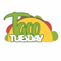 Mexico: Taco Tuesday Laser Die Cut