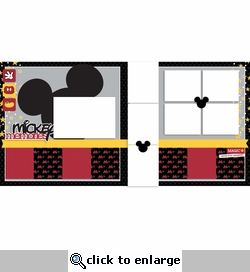 Mickey 2 Page Layout Kit
