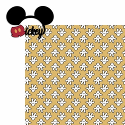 Mickey 2 Piece Laser Die Cut Kit