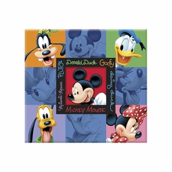 Mickey and Friends Embossed Postbound 12 x 12 Album