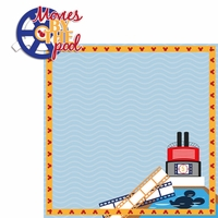 Mickey Cruise: Movies By The Pool 2 Piece Laser Die Cut Kit