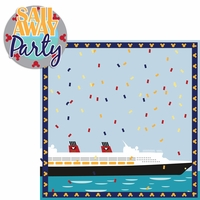 Mickey Cruise: Sail Away Party 2 Piece Laser Die Cut Kit