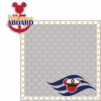 Mickey Cruise: Welcome Aboard 2 Piece Laser Die Cut Kit