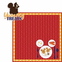 Mickey Cruise: Yummy Foods 2 Piece Laser Die Cut Kit