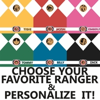 Mighty Morphin: Power Ranger Custom Color 12 x 12 Paper