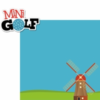 Mini Golf: Windmill 2 Piece Laser Die Cut Kit