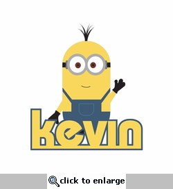 Minions: Custom Name Laser Die Cut