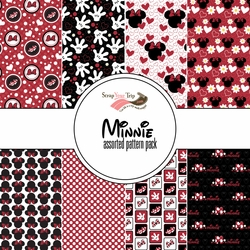 Minnie Assorted 12 x 12 Paper Pack