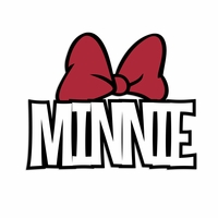 Minnie Laser Die Cut