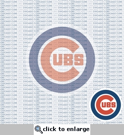 MLB Fanatic: Chicago Cubs 12 x 12 Paper