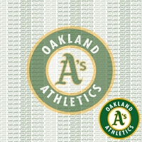 MLB Fanatic: Oakland Athletics 12 x 12 Paper