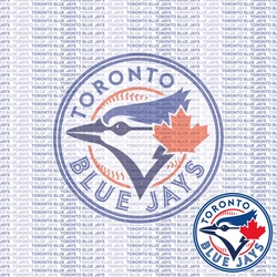 MLB Fanatic: Toronto Blue Jays 12 x 12 Paper