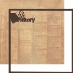 Moments In Time: Life Story 12 x 12 Overlay Quick Page Laser Die Cut