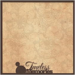 Moments In Time: Timeless Memories 12 x 12 Overlay Quick Page Laser Die Cut