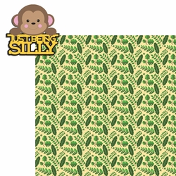 2SYT Monkey: Silly 2 Piece Laser Die Cut Kit