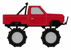 Monster Truck Laser Die Cut
