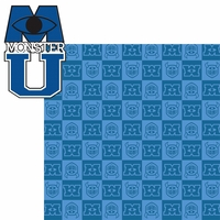 Monster U: Monster U 2 Piece Laser Die Cut Kit