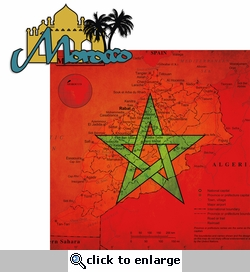 Morocco: Morocco 2 Piece Laser Die Cut Kit