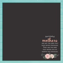 Mother's Day: Loving Mother 12 x 12 Paper