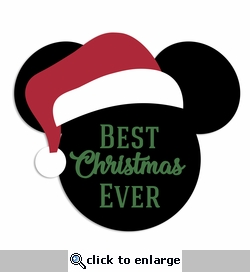 Mouse Christmas: Best Christmas Laser Die Cut