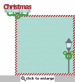 Mouse Christmas: Main Street 2 Piece Laser Die Cut Kit