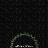 Mouse Christmas: Merry Christmas 12 x 12 Paper