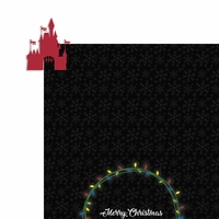 Mouse Christmas: Merry Christmas 2 Piece Laser Die Cut Kit
