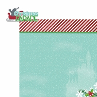 Mouse Christmas: Parade 2 Piece Laser Die Cut Kit