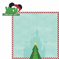 Mouse Christmas: Very Merry 2 Piece Laser Die Cut Kit