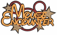 Mouse Encounter Laser Die Cut