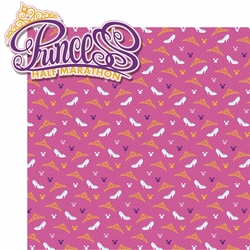 Mouse Marathons: Princess Half Marathon 2 Piece Laser Die Cut Kit