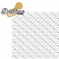 Music: Baritone 2 Piece Laser Die Cut Kit