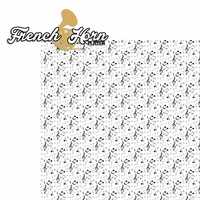 Music: French Horn Player 2 Piece Laser Die Cut Kit