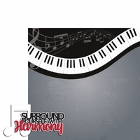 Music: Harmony 2 Piece Laser Die Cut Kit